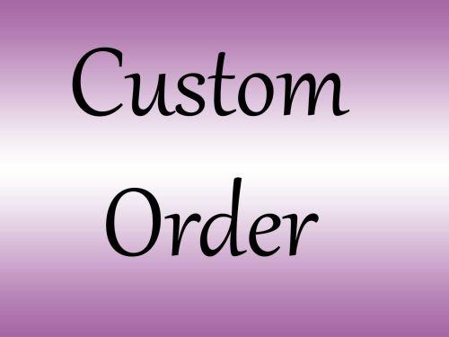 Bed Order for Jo Aylard