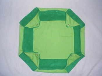 Triple Decker Plain Green Hammock