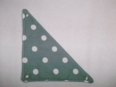 Mini Grey Spots Corner Hammock