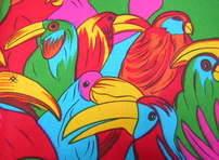 Cotton - Parrots
