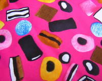 Cotton - Liquorice Pink