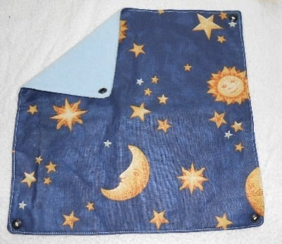Medium Moon and Stars Square Hammock
