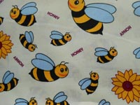 cotton - cream bees