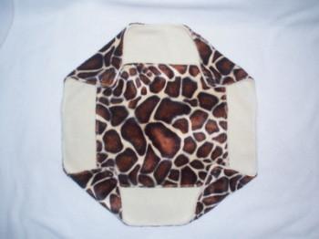 Double Decker Giraffe Faux Fur Hammock