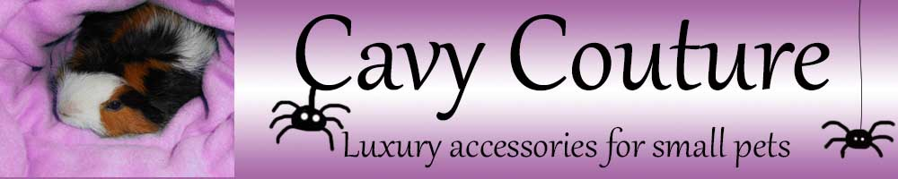 Cavy Couture, site logo.