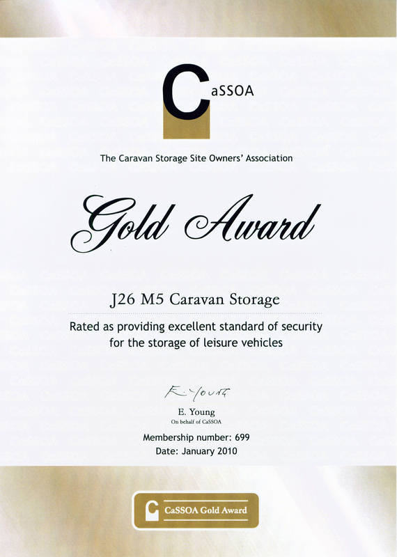 CaSSOA Gold Award