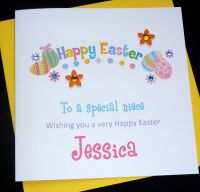 'Happy Easter' Card