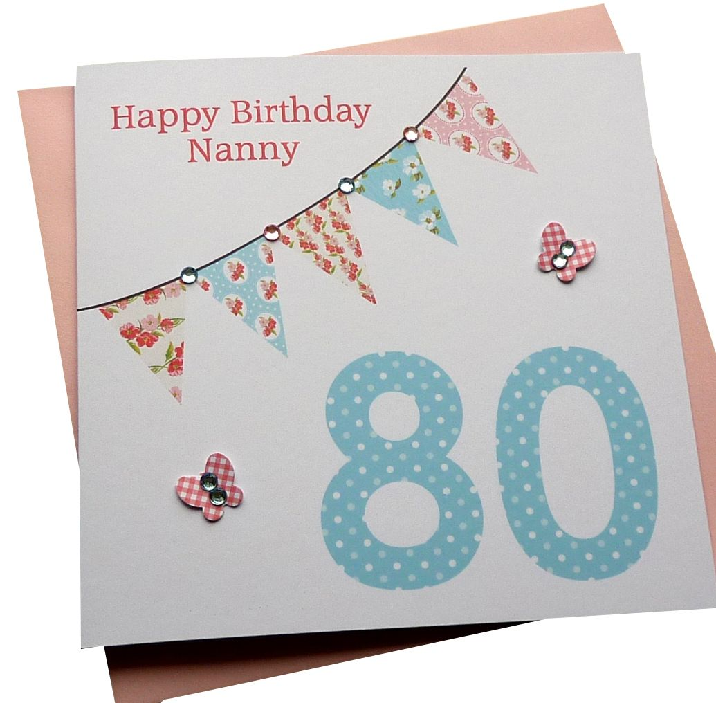 Bunting Birthday Card - any age