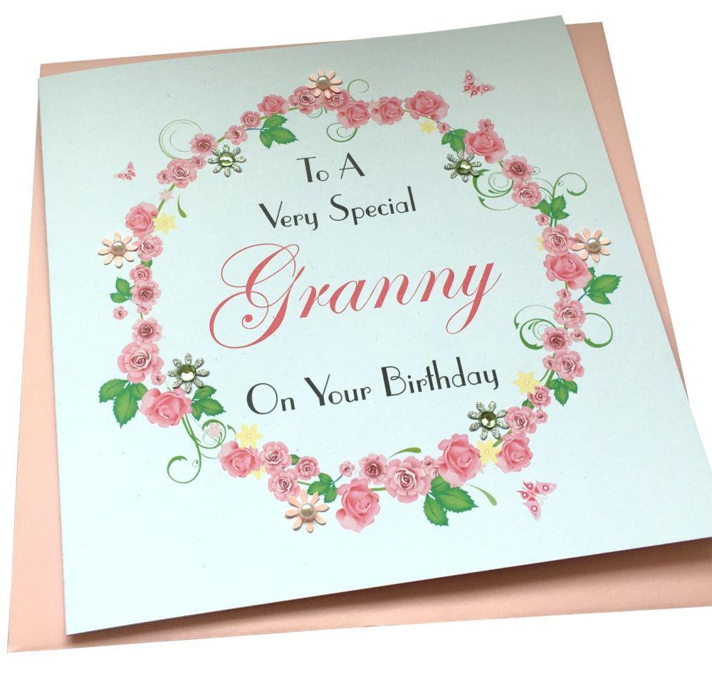 Rose Garland Card