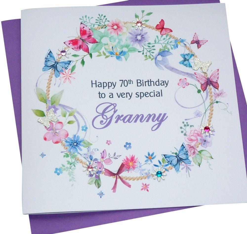 Floral Personalised Card