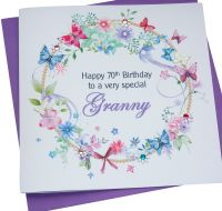 Floral Personalised Card