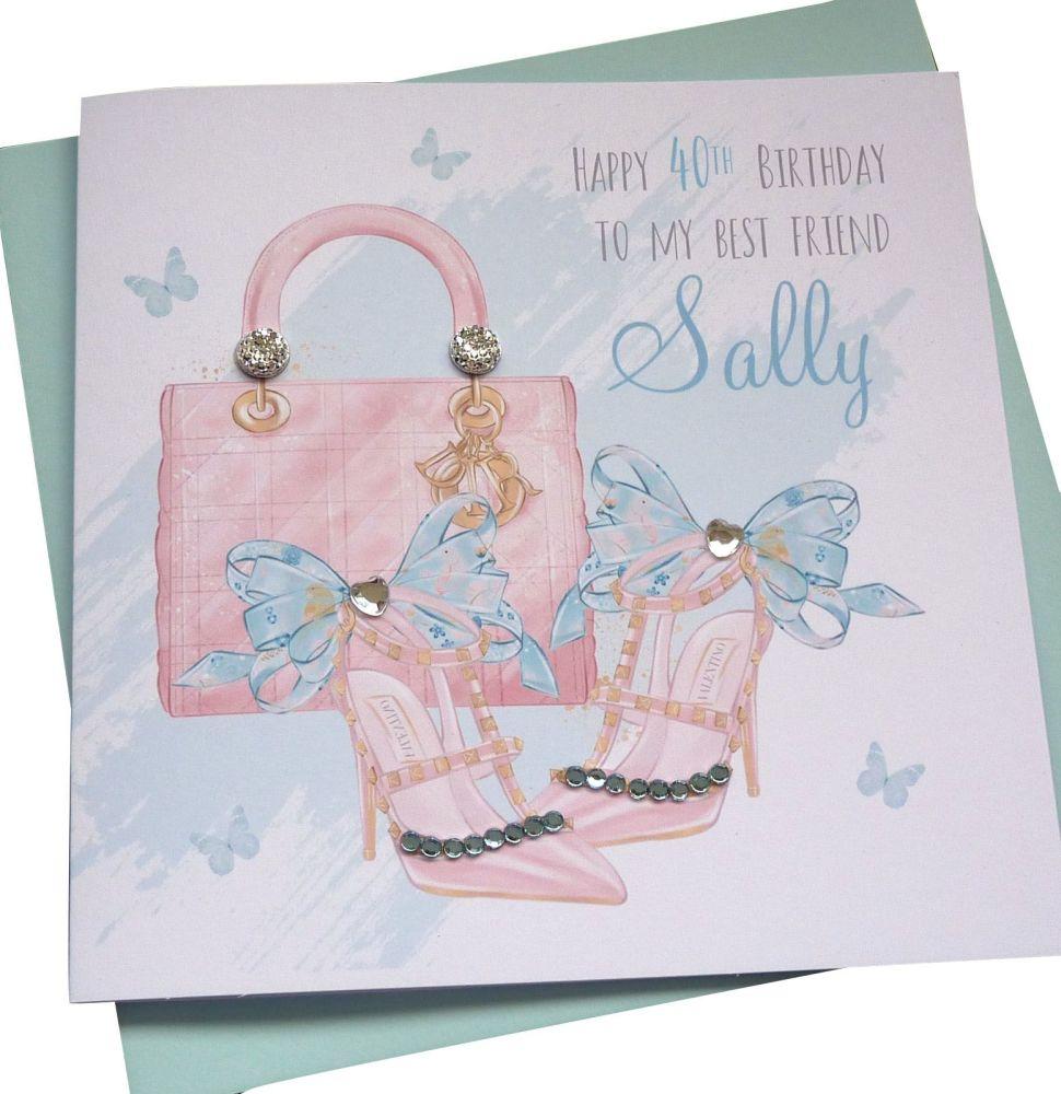 Handbag and shoes card (2)