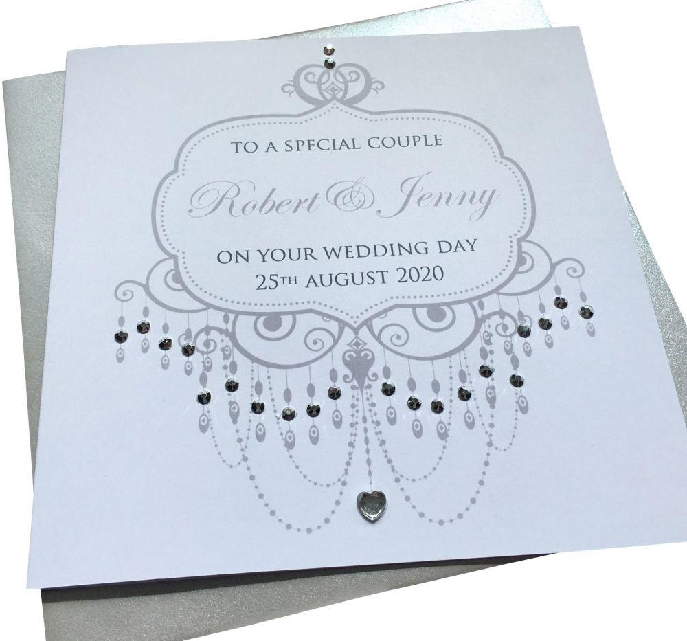 Chandelier  Wedding /Anniversay/Engagement Card