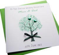 Emerald / 55th Wedding Anniversary