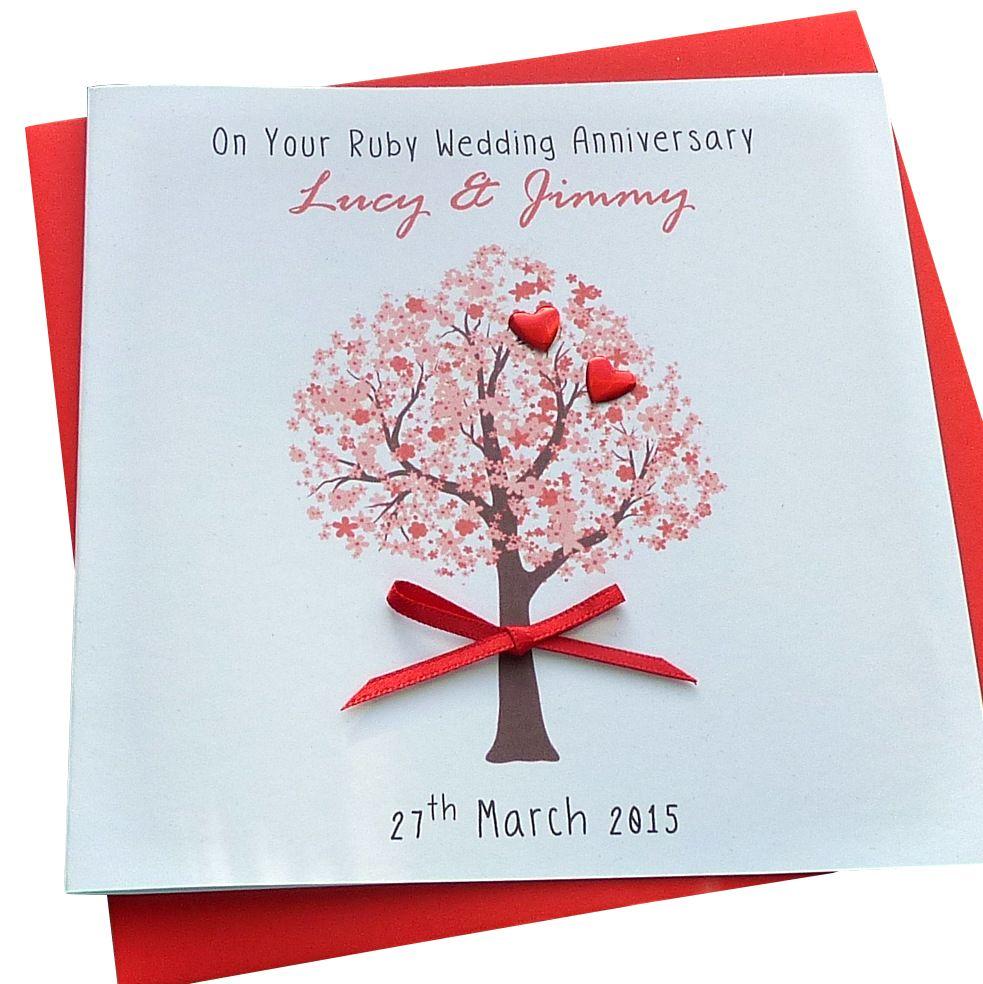 Ruby / 40th Wedding Anniversary