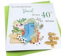 Gardening Birthday Card