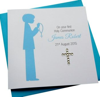 1st Holy Communion / Confirmation Card - Girls or Boys