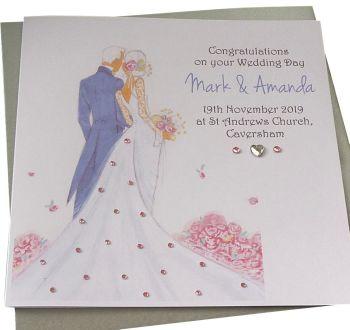 Bride & Groom Wedding Card (2)
