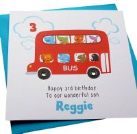 Big Red Bus Card