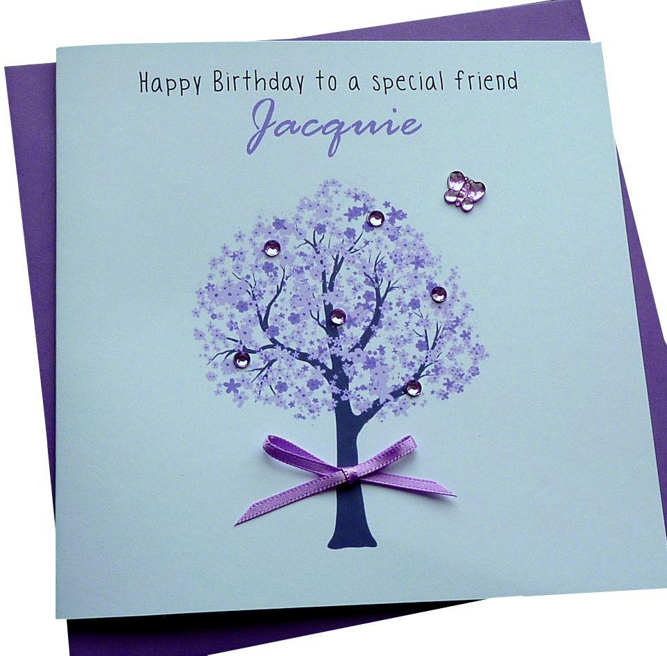 Lilac Tree Card