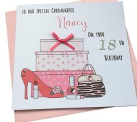 Shoes & Gifts Birthday Card