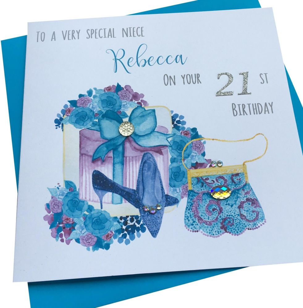Shoes & Gift Birthday Card