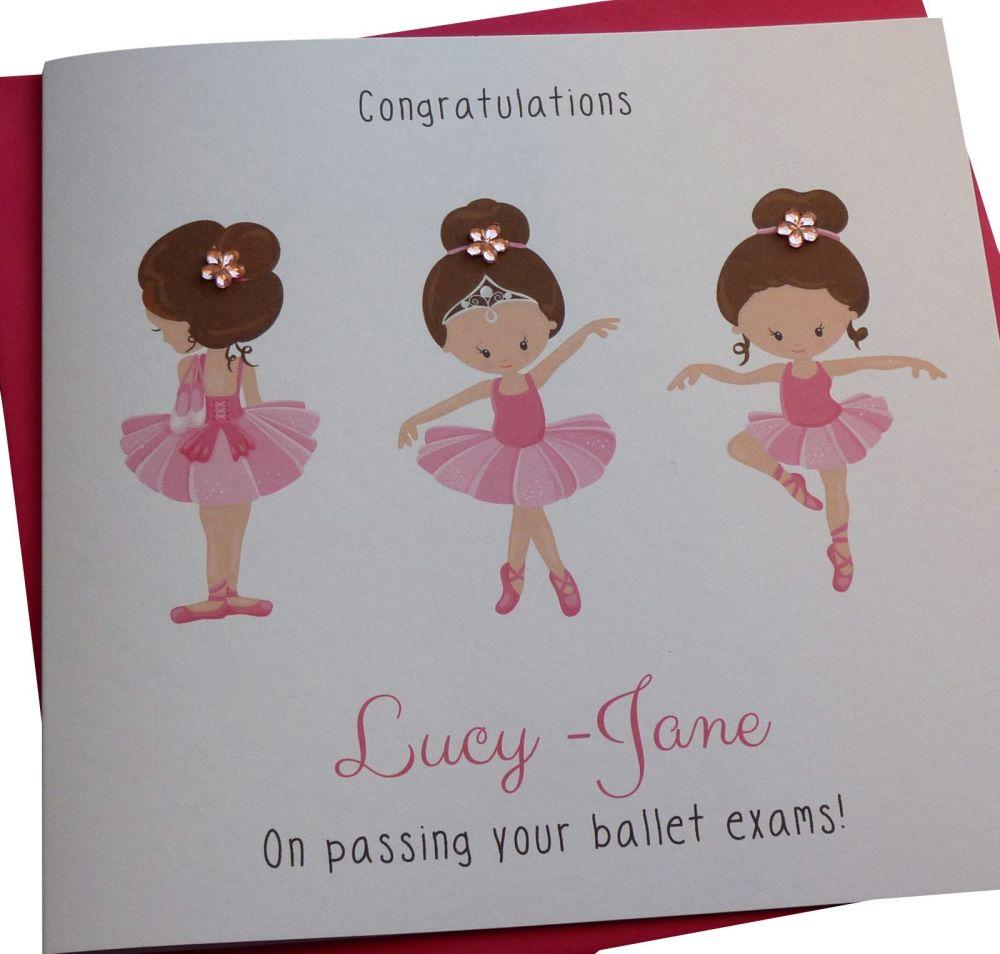 Ballet Exam Card
