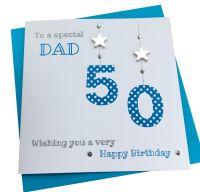 Numbers Birthday Card