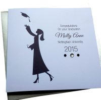 Female Graduation Card