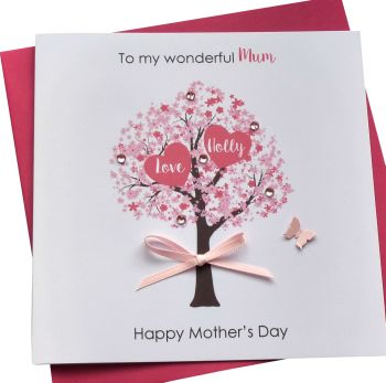 Mother's day blossom tree Card (2)