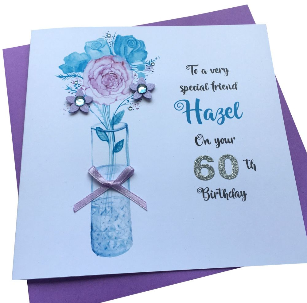 Vase Birthday Card