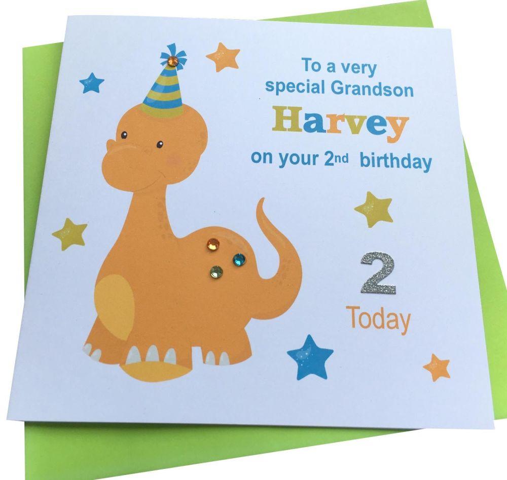 Dinosaur Birthday Card (2)
