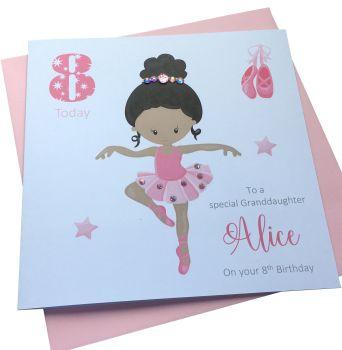 Ballerina Birthday Card (3)