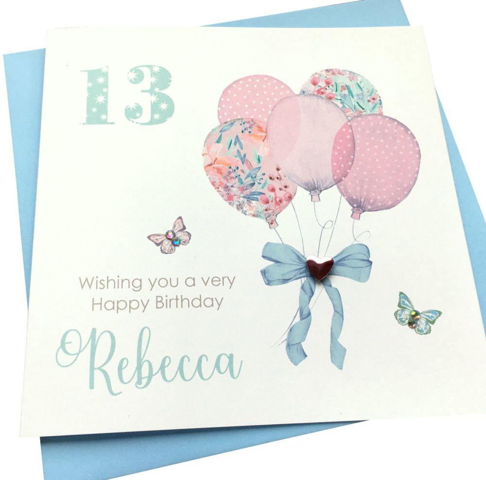 ' Balloons' Birthday Card