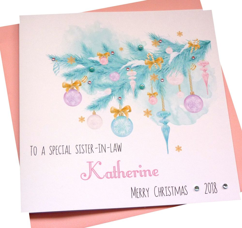 Pastel Christmas Card