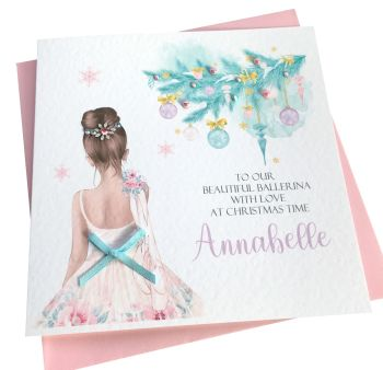 Christmas Ballerina Card