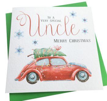 Christmas Beetle Card