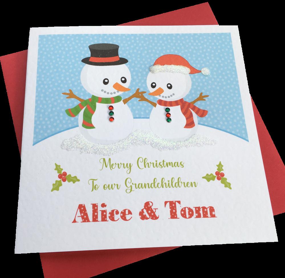'snowmen' Card