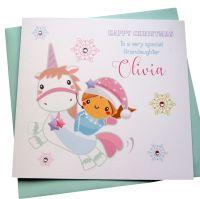 Christmas Unicorn Card