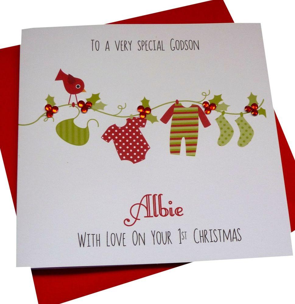 Babie's 1st Christmas Card