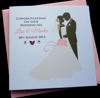 Bride & Groom Wedding Card (1)