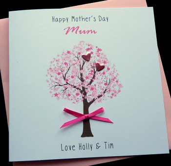 Mother's day blossom tree Card