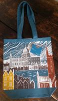 Ed Kluz Restoration London Canvas Bag