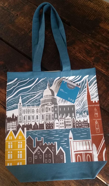 Ed Kluz Restoration London Canvas Bag