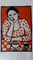 Anita Klein Tea and Cake Tea Towel