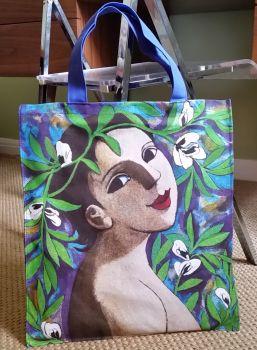 Anita Klein Canvas Shopping Bag, i Fiori delle Fave