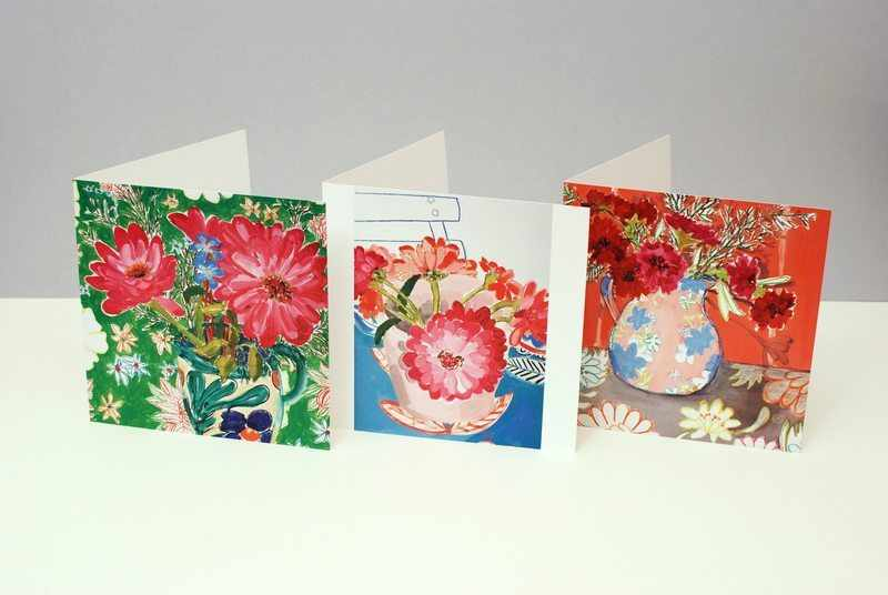 flower cards group (med)
