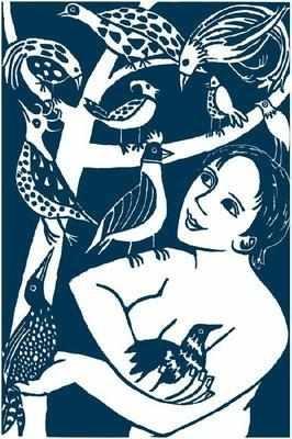 Anita Klein Tea Towel, All the Strange Birds