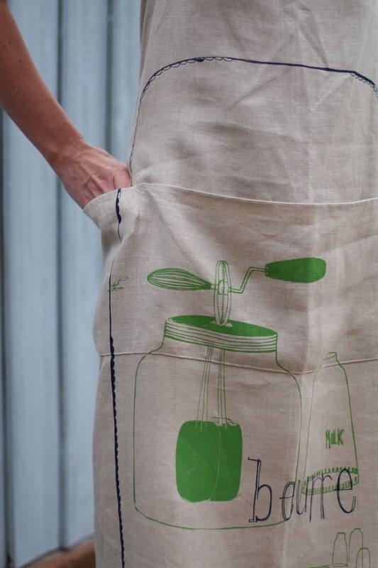 buerr apron detail