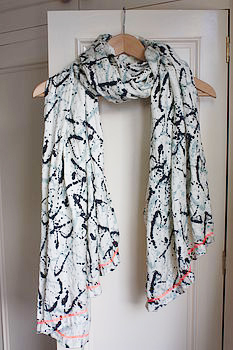 Oh Pollocks Paint Splat scarf